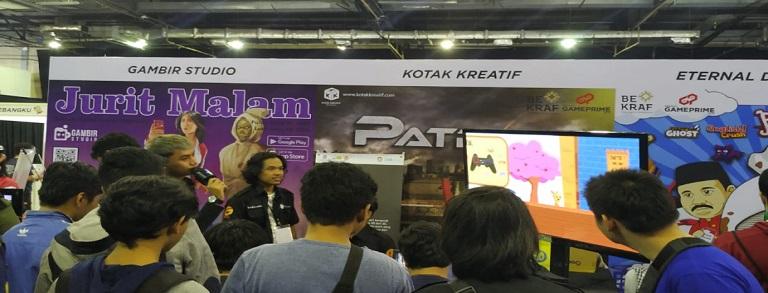 Tim Kotak Kreatif Fikom Budi Luhur Jadi Exhibitor di Acara Game Prime Bekraf 2019