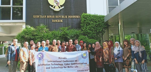 Dukungan KBRI Bangkok Untuk International Conference Technology for Better Life (ICT4BL)