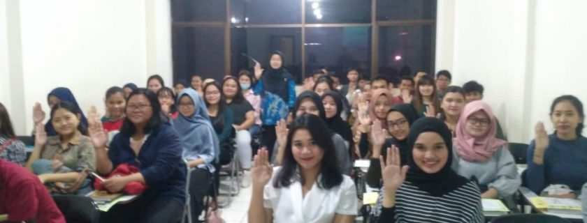 Selamat Datang Calon Generasi Cerdas dan Berbudi Luhur… Sosialisasi Mahasiswa Baru Semester Gasal Tahun 2019