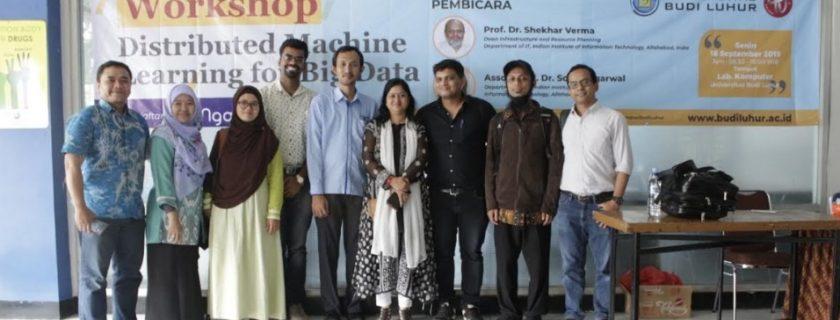 Budi Luhur Gelar Workshop Distributed Machine Learning For Big Data