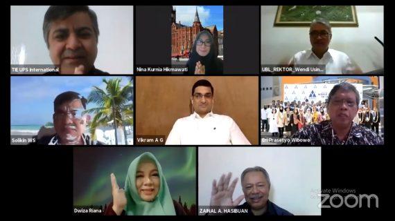 APTIKOM Delivering Education Online – International Best Practices: Pertukaran Pembelajaran Online di Tengah Pandemi Covid-19 Bersama Archarya Institutes Bangalore India