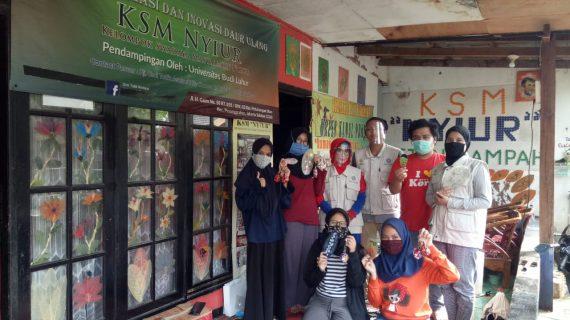 Bank Sampah Budi Luhur Menjadi Referensi Studi Banding KKN Mahasiswa IPB University