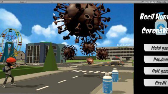 Lawan Covid-19, Mahasiswa Fakultas Teknologi Informasi UBL Menciptakan Karya Gim Bocil Hunter