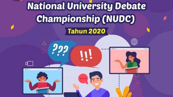 Delegasi Universitas Budi Luhur Untuk National University Debate Championship Tingkat Nasional 2020