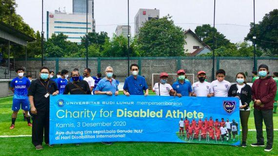 """Peringati Hari Disabilitas Internasional, Universitas Budi Luhur Dukung Para Atlet Disabilitas Melalui Kegiatan """"Charity for Disabled Athlete"""""""