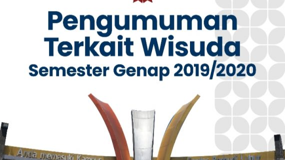 Pengumuman Wisuda Semester Genap 2019/2020 Universitas Budi Luhur