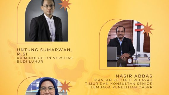 Menelisik Mata Rantai Terorisme Indonesia Bersama Kriminologi Universitas Budi Luhur