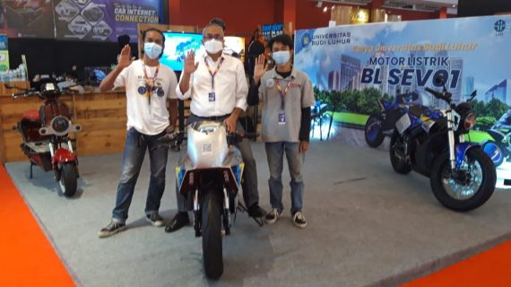 Universitas Budi Luhur Sukses Uji Coba Motor Listrik di Sentul