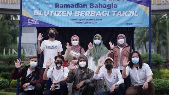 Mengisi Bulan Ramadan Dengan Berbagi Takjil & Menjadi Relawan Budi Luhur